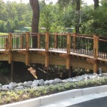 Image of timber Walking Bridge built by Kenton Construction