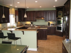 Photo of Kenton Construction's Worthington Home Kitchen Renovation Project